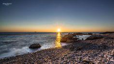 November sunset - Tramonto del 01.11.2015 dal golfo di Trieste.