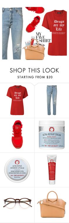 """School Of Pharmacy"" by hollowpoint-smile ❤ liked on Polyvore featuring AMIRI, RE/DONE, Wildfox and Givenchy"