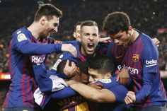 Barcelona Atletico Madrid: La Liga leaders go 11 points clear Fc Barcelona, Barcelona Website, Barcelona Players, German Football League, Soccer League, Soccer Teams, Barca News, Antoine Griezmann, Display