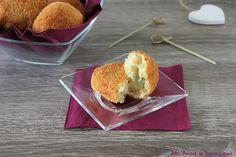 Polpette di patate con cuore di gorgonzola