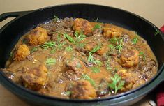 Baked Potato Ball Curry