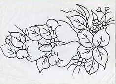A Gaivota Artesanato: Pintura em tecido com Giz de Cera Passo a passo Riscos Frutas Cestas Pano de prato Copa