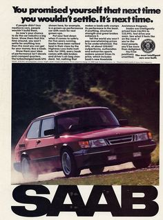 Why did they ever change the design? Love Love the classic Saab 900S! Bring it back Saab!!!
