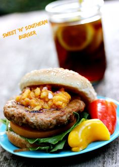 Sweet 'n' Southern Burger Recipe 2