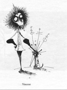 Vincent, By Tim Burton. so excited for the movie of this to come out!