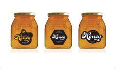 Virgara Honey Bee Label Concept