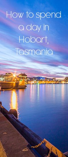Hobart, Tasmania is a fun and beautiful city. Western Australia, Australia Travel, Tasmania Road Trip, Great Barrier Reef, Romantic Travel, Solo Travel, Adventure Travel, Places To See, Travel Inspiration