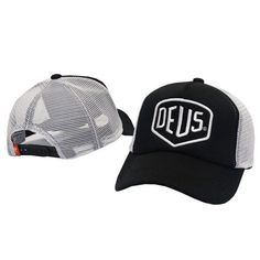 171e9113260e49 Deus Ex Machina Baylands Trucker Snapback Men Women Bboy Girls Mesh Sports  Hat Hiphop God Pray Ovo Cap Black