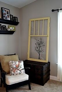 IDEAS TO DECORATE YOUR HOME USING OLD WINDOWS BY http://styleitchic.blogspot.com/2011/05/blog-post_31.html