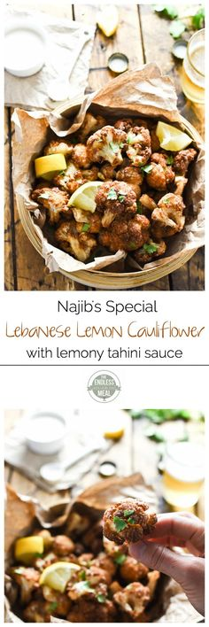 Najib's Special Lebanese Cauliflower | It's a Vancouver tradition and the BEST cauliflower in the world! | theendlessmeal.com