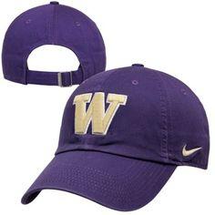 Nike Washington Huskies Ladies Campus Adjustable Performance Hat - Purple Team Gear, University Of Washington, Husky, Baseball Hats, College, Clothes For Women, Nike, Purple, My Style