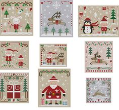 Christmas Cross Stitch Collection by Theflossbox