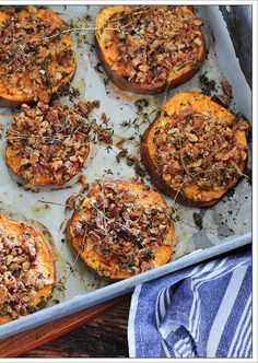Pecan Crusted Sweet Potato