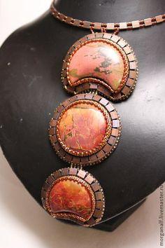 Кулоны, подвески ручной работы. Ярмарка Мастеров - ручная работа кулон-галстук Марс. Handmade.
