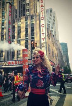Mrs. Wormwood takes NYC (Lesli Margherita as Mrs. Wormwood from Matilda the Musical)