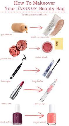 Come cambia il make-up d'estate? Ecco alcuni consigli per un trucco perfetto sotto al sole, di giorno ☀️ e di sera