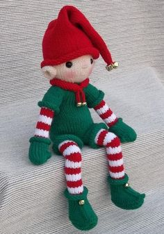 (6) Name: 'Knitting : Knit Christmas Elf