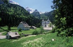 St. Martin bei Lofer in Austria.  Village to village hiking.