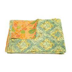 $99 Vintage Sari Throw now featured on Fab.