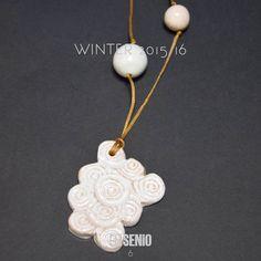 Ceramica Senio Jewelry handmade design by Alice MADE IN ITALY #AliceFagnocchi #handmade #ceramic #art #sculpture