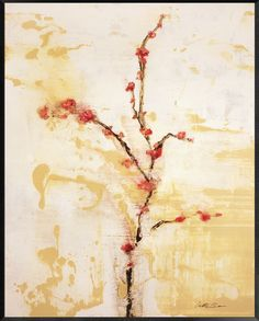 Cherry Blossom Painting Print