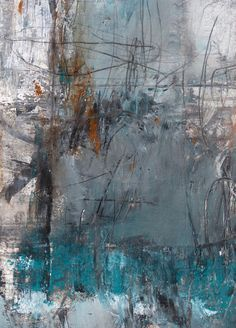 ♒ Art in the Abstract ♒  modern painting by allison b. cooke