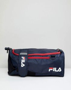 a268631a6d3 Fila Hollis Medium Backpack Carryall In Navy