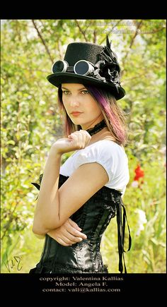 steampunk - Angela by *ValentinaKallias on deviantART