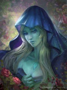 BLUE DIAMOND - FAN ART by andyliongart on DeviantArt