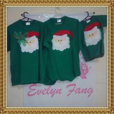 Christmas t shirts by evelyn fang