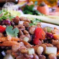 Summer lentil salad @ allrecipes.co.uk