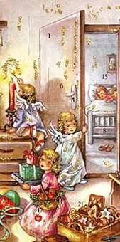 Advent calendar from Germany. I love advent calendars.