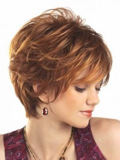 finger-styled wavy short capless wig, hairstyles for short hair