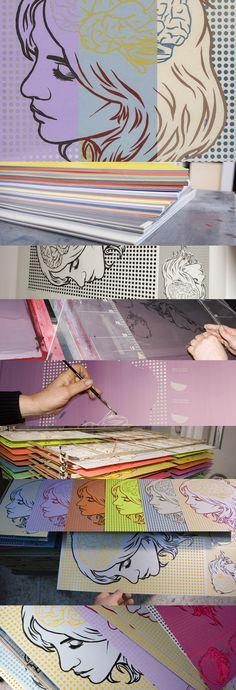 exp. print + comic art V.2 designed by http://www.onemanshowstudio.com/ printed by ~tind on deviantART