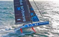 IMOCA60 Banque Populaire VIII, Skipper, Armel Le Cléac'h.