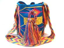 Every single mochila is different and unique, with intricate designs and colors. Many of the designs that are woven into each mochila represent the natural elements that surround the Wayuu, and what their culture revolves around, such as: animals, the sun, plants, stars. www.susustyle.com