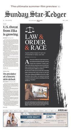 The Star-Ledger 5/1/16 via  Newseum