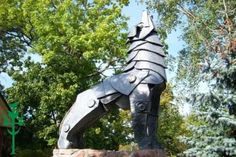 Geležinis Vilkas - The Iron Wolf  From the Lithuanian legend about the founding of Vilnius, Lithuania's capital