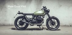MOTOGUXXI: Moto Guzzi V50 by Rusty Bolt Motorshop
