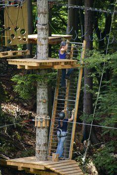 Wasserfallenbahn: Waldseilpark *play*basel* #playbasel