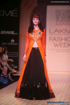 Archana Kochhar Show at Lakme Fashion Week Winter / Festive 2013 like the style but different colors Ethnic Fashion, Asian Fashion, Girl Fashion, Indian Attire, Indian Wear, Indian Dresses, Indian Outfits, Bollywood Lehenga, Anarkali Lehenga