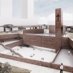 """Image 3 of 23 from gallery of PWFERRETTO Propose an """"Active Monument"""" as Seoul's…"""