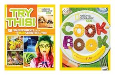 The NapTime Reviewer: National Geographic Kids Cookbook and Experiment Book Giveaway