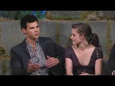 Twilght : Kristen Stewart, Robert Pattinson  Taylor Lautner on Jimmy Kimmel  @Allison Vieira  PARTY!!!