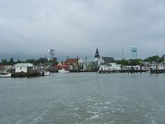 Tangier Island Harbor  Entrance to Tangier Island  Photography By: VTE, Inc. - Virginia Taylor