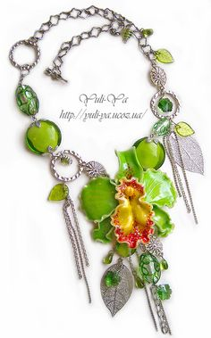 Tropic Rain by Yuli-Ya, via Flickr  Polymer Clay