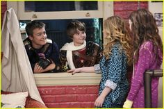 "#GirlMeetsWorld 1x11 ""Girl Meets World: of Terror"" - Lucas, Farkle, Maya and Riley"