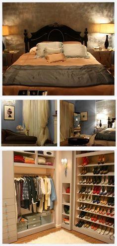 B:S room on Gossip Girl! Inspiration :D