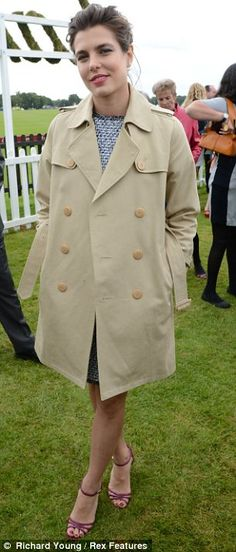 Charlotte Casiraghi (polo... see caption on other pic)