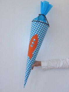 Schultüte für Jungen, Rakete
